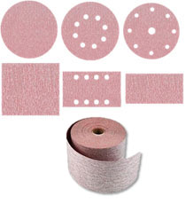 Velcro discs and sheets - soft discs - rolls